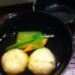 20122760 - 海老しんじょと冬瓜のお椀