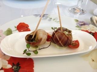 フランス料理レストラン オー・エ・セル - エスカルゴのブルゴーニュバター
