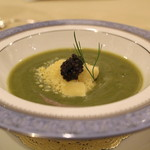 トゥ・ラ・ジョア - 三種野菜の冷製スープ (2013/07)