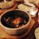 20128393 - 石焼のお料理