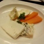 銀座Toriya Premium - チーズ盛り合わせ