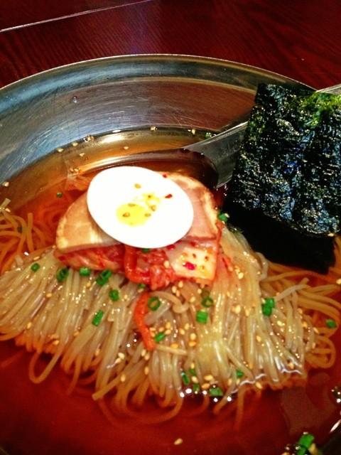 韓々房 - 冷麺