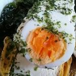 菊や - ゆで卵ontheアイス(^^)