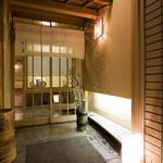 京料理 竹島 ICHIGO - 木屋町通りから奥に入ったところが入口です