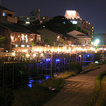京料理 竹島 ICHIGO - 御池大橋からの「鴨川納涼床」の雰囲気を御覧下さい(床席は5月~9月)