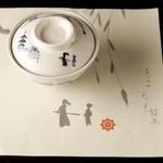 京料理 竹島 ICHIGO - お竜膳や会席龍馬伝では、龍馬ゆかりの風景が描かれた「龍馬茶碗」を使用。販売(2500円・箱代別)もするから京みやげに