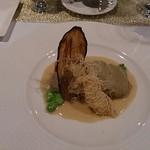 Ripaille - まと鯛になすのペーストと島ラッキョウ