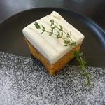 ガーデンハウス レストラン - キャロットケーキ チーズクリーム添え