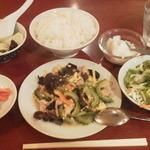 中国料理 一品香 - 豚肉ゴーヤ炒め定食¥500
