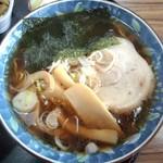 御食事処 松竹 - 料理写真:松竹 ミニラーメンアップ