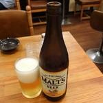 ヴォーカル - ビール中瓶550円