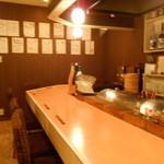 横鍋JAPAN - カウンター席