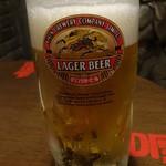 青龍門 - 爆冷生ビール(2杯目)