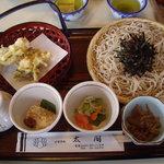 食事処太閤 - 店名を冠した「太閤そば」(1,160円)