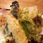 地粉そば処 みのり - 天ぷら
