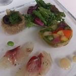 レストランJ - 冷前菜盛り合わせ