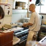 かえる食堂 - キッチンの正岡子規