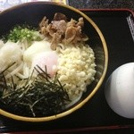 肥後そう川 手延べ麺 - ぶっかけうどんスペシャル(800円⇒780円)