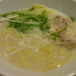 串特急 - 特製鶏塩ラーメン:525円 (2013/7)