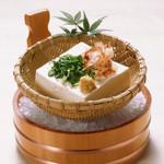 四國うどん - 自家製ざる豆腐