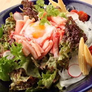 うまい野菜!季節の野菜・天ぷら!人気のサラダ♪