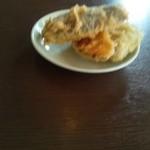 温井製麺 - 料理写真:野菜天(かぼちゃ・なす・ピーマン)100円