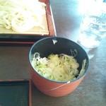 温井製麺 - ぬく盛りうどん350円