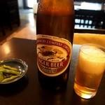 そばごころ 小坂 - とりあえずビール♪