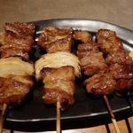 串エ門 - 「豚串」はジューシーで美味い!