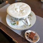 珈琲香房 楽風 - ウィンナーコーヒー