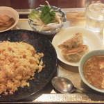 20160421 - 餃子定食¥500