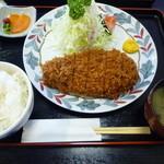 とんかつ雅 - 上ロースかつ定食(数量限定)1560円