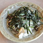 桃蕎庵 こばやし - 山菜おろし(400円)