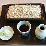 桃蕎庵 こばやし - せいろ(550円)