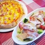 CIAO - 【New!】ピッツァもサラダ(M)もサイズは大き目