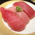 にぎり長次郎 - シャリは関西のお寿司の甘めが好きだな。