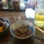 20166155 - あなごの肝煮(絶品)と小たこの煮付け