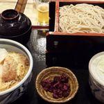 20166330 - カツ丼セット(そば大盛り)