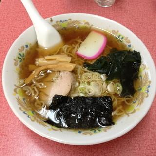 やまこ亭 - ラーメン(500円)