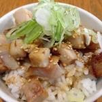 ぶぶか - ミニ叉焼丼