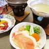 シラハマキーテラス ホテルシーモア - 料理写真:焼き物と鍋 '10 7月下旬