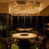 恵比寿焼肉 kintan - 内観写真:料理とワイン、会話も楽しめるシックな空間。