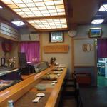 寿司万 - きれいでした