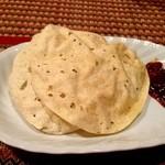 Puja - パポル(200円)豆せんべい