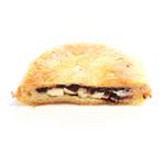 豆パン屋 アポロ - あんこクリームチーズの断面 '13 7月中旬