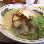 博多だるま JAPAN - 博多ラーメン650円