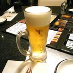 新橋 正泰苑 - 生ビール
