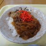 八幡平山頂レストハウス - 牛丼
