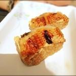 築地 海宝館 勝鬨寿し 総本店 - 丑の日の今朝の朝食。3000円の特大うなぎをミニ鰻丼300円にして売っていました♪