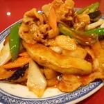 泰豊楼 - 豚肉とナスの辛味炒め